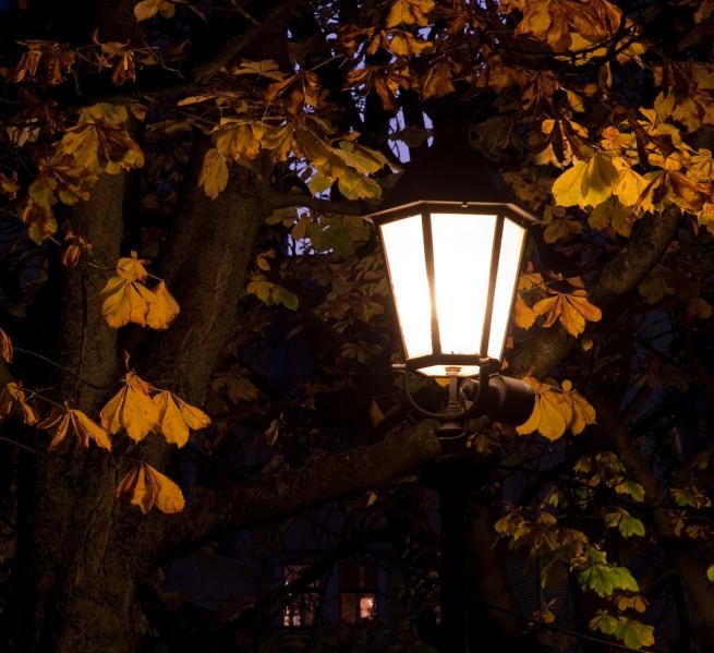 Herbstleuchter