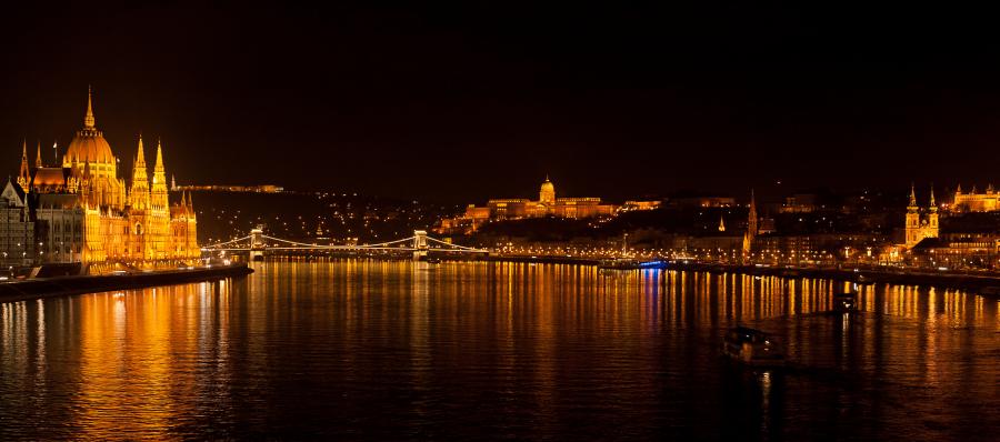 Frohes neues Jahr aus Budapest!
