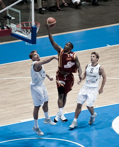 Basketball Länderspiel Deutschland - Mazedonien