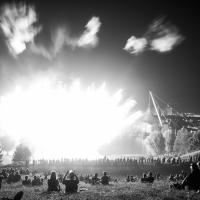 Sommerfestival impark13 Feuerwerk