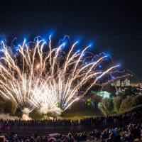 Sommerfestival impark13 Feuerwerk Teil 2